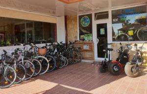alquiler bicicletas Canarias